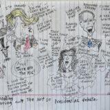 Debate Doodling